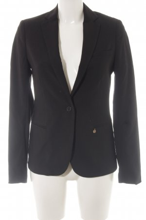Maison Scotch Blazer Boyfriend negro estilo «business»