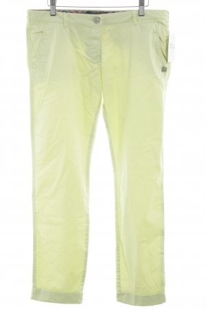 Maison Scotch Chinohose neongelb Casual-Look