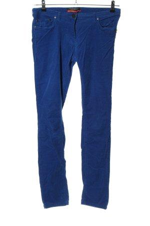 Maison Scotch Spodnie sztruksowe niebieski W stylu casual