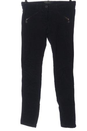 Maison Scotch Corduroy broek zwart casual uitstraling