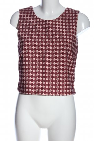 Maison Scotch Cropped top volledige print casual uitstraling