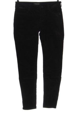 Maison Scotch Pantalone cinque tasche nero stile casual