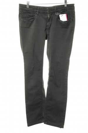 Maison Scotch Five-Pocket-Hose dunkelgrün Casual-Look