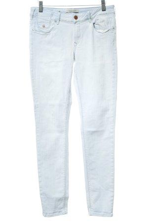 Maison Scotch Five-Pocket-Hose himmelblau-weiß Farbverlauf Casual-Look