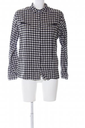 Maison Scotch Flannel Shirt black-white check pattern casual look