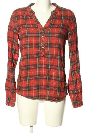 Maison Scotch Camisa de franela estampado repetido sobre toda la superficie