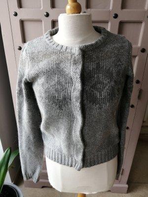Maison Scotch Cardigan in maglia grigio-grigio scuro