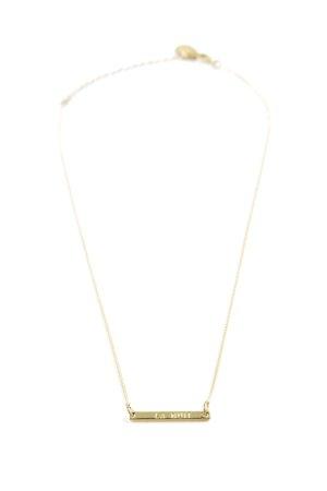 Maison Scotch Halskette goldfarben Elegant