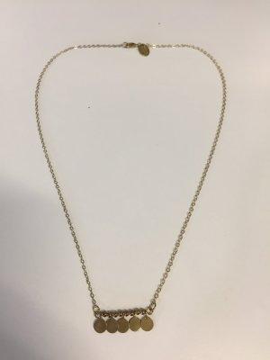 Maison Scotch Halskette mit Plättchen-Anhänger