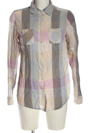 Maison Scotch Camicia blusa motivo a quadri stile casual