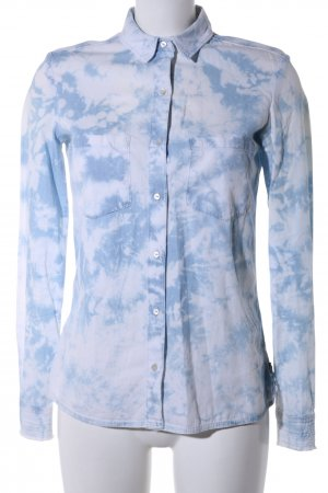 Maison Scotch Hemd-Bluse blau Casual-Look