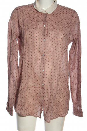 Maison Scotch Blouse-chemisier rose-rouge motif à carreaux style décontracté