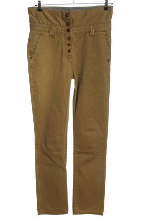 Maison Scotch High-Waist Hose braun Casual-Look
