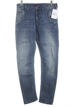 Maison Scotch High Waist Jeans stahlblau Casual-Look