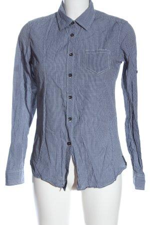Maison Scotch Lumberjack Shirt blue-white check pattern casual look