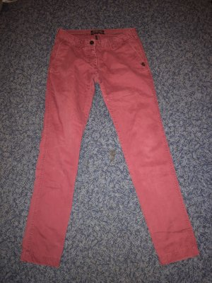 Maison Scotch Low-Rise Trousers brick red