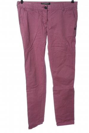 Maison Scotch Low-Rise Trousers pink casual look