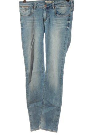 Maison Scotch Jeans taille basse bleu style décontracté