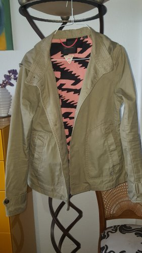Maison Scotch Pea Jacket sand brown cotton