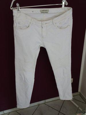 Maison Scotch Jeans de moto blanc