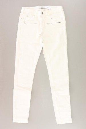Maison Scotch Jeans Größe W27/L32 creme aus Baumwolle