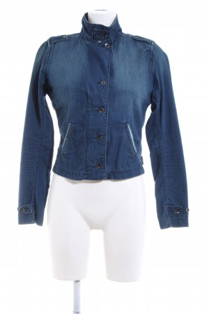 Maison Scotch Jeansjacke blau Casual-Look