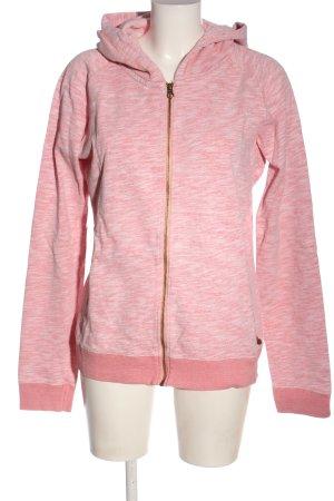 Maison Scotch Kapuzensweatshirt pink meliert Casual-Look