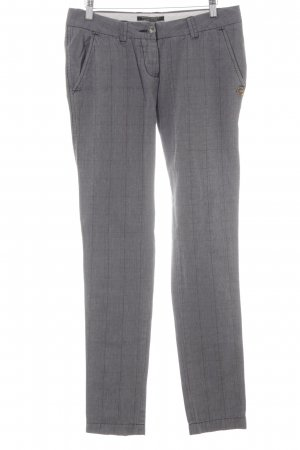 Maison Scotch Peg Top Trousers glen check pattern simple style