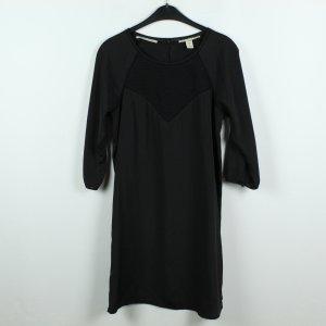 MAISON SCOTCH Kleid Gr. 2 (S) schwarz (19/09/407)