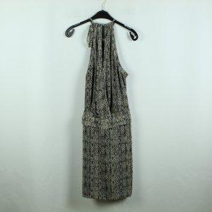 MAISON SCOTCH Kleid Gr. S braun schwarz gemustert (20/08/027*)