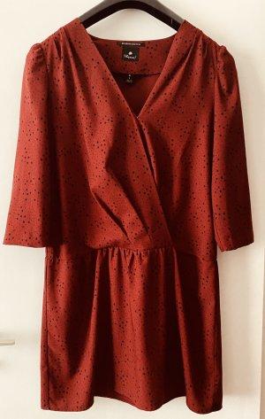 Maison Scotch Kleid Größe 4/ L mit Sternenmuster