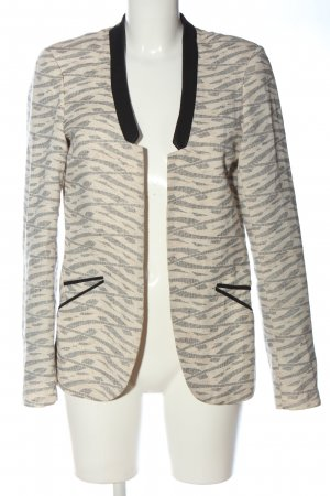 Maison Scotch Korte blazer volledige print casual uitstraling