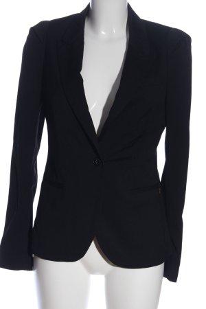 Maison Scotch Korte blazer blauw zakelijke stijl