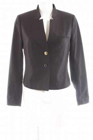 Maison Scotch Kurz-Blazer schwarz Business-Look