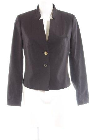Maison Scotch Korte blazer zwart zakelijke stijl