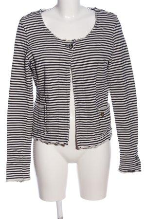 Maison Scotch Shirtjack wit-zwart volledige print casual uitstraling