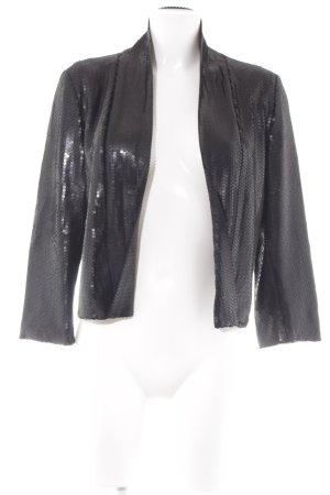 Maison Scotch Korte blazer zwart feest stijl