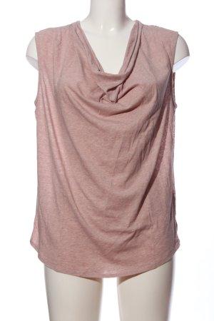 Maison Scotch Kurzarm-Bluse pink Blumenmuster Casual-Look