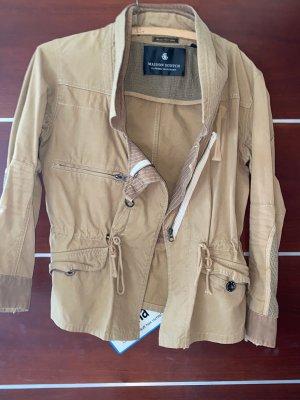 Maison Scotch Biker Jacket camel