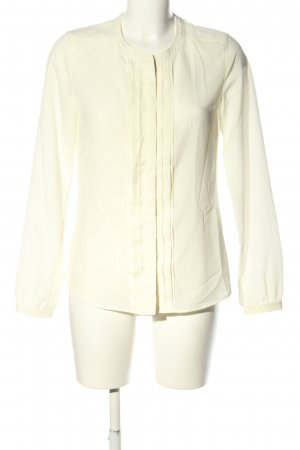 Maison Scotch Langarm-Bluse creme Elegant