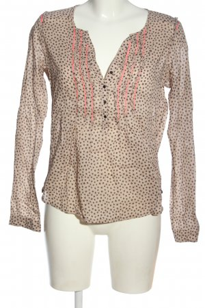 Maison Scotch Langarm-Bluse Allover-Druck Casual-Look