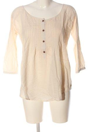 Maison Scotch Langarm-Bluse creme Casual-Look