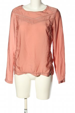 Maison Scotch Langarm-Bluse pink Casual-Look