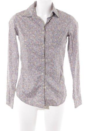 Maison Scotch Langarm-Bluse grauviolett Casual-Look