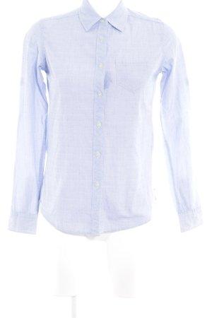 Maison Scotch Langarm-Bluse himmelblau Casual-Look