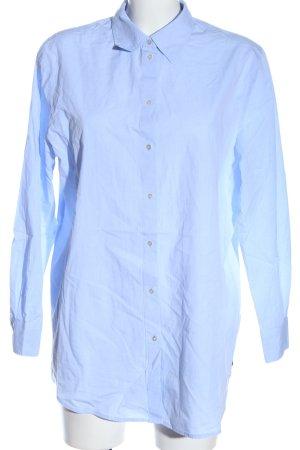 Maison Scotch Langarmhemd blau Business-Look