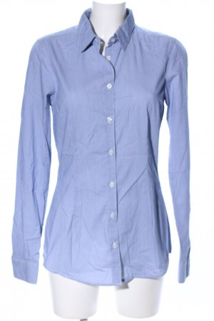Maison Scotch Langarmhemd blau Business-Look