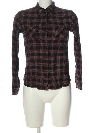 Maison Scotch Camisa de manga larga estampado repetido sobre toda la superficie