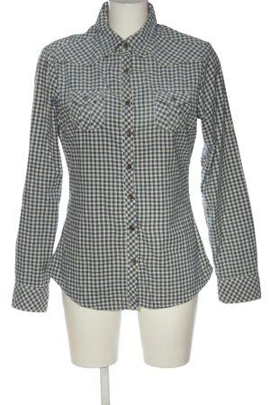 Maison Scotch Camicia a maniche lunghe blu-bianco stampa integrale stile casual