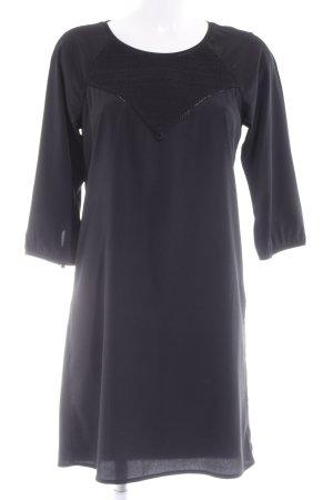 Maison Scotch Langarmkleid schwarz Elegant